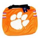 Ncaa Clemson Tigers Jersey Tote Shoulder Bag  School Purse Orange Watson  Logo