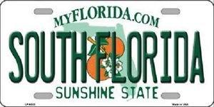 "NCAA South Florida Vanity License Plate Tag 6""x 12"" Sports Bulls Metal Auto USF"