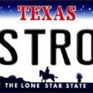 "MLB Houston Astros Vanity License Plate Tag Texas 6""x 12""  Metal Auto Car  New"