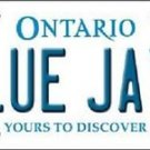 "Mlb Blue Jays Vanity License Plate Tag Boston 6""x 12""  Metal Auto Toronto New"
