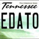 "NHL Nashville Predators Vanity License Plate Tag  6""x 12"" Metal Auto Cup New TN"