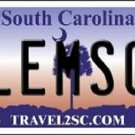 "NCAA Clemson Vanity License Plate Tag 6""x12""  Tigers College Team Metal Auto"