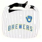 MLB Milwaukee Brewers Jersey Tote Bag White Purse Shoulder Strap Braun logo