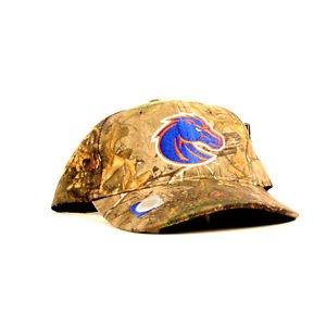 Full Camo Boise State Broncos University NCAA Adjustable  Baseball Hat Cap New