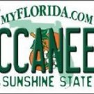 "NFL Tamp Bay Buccaneers Metal License Plate Tag Florida State 12""x 6"" Auto Wall"