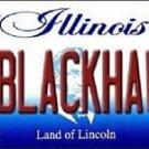 "NHL Go Blackhawks Vanity License Plate Tag  State  6""x 12""  Metal Chicago  Auto"