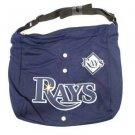 Tampa Bay Rays Jersey Tote Bag Blue Purse Shoulder Strap MLB Longoria logo