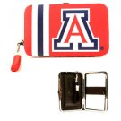 NCAA Wildcats Shell Wristlet Wallet Purse Blue Phone Arizona Team Logo Woman UA