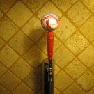 St Louis Cardinals KEGERATOR BEER TAP HANDLE Rawling Baseball Bar Busch Brew MLB