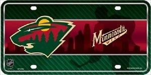 "Minnesota Wild  Vanity License Plate Tag  6""x 12"" Metal Auto Stanley Cup New NHL"