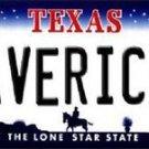 "NBA Mavericks  Vanity License Plate Tag  6""x 12"" Metal Dallas Auto Frame Texas"