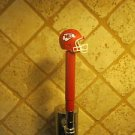 Kansas City Chiefs  KEGERATOR BEER TAP HANDLE  Football Helmet Bar Sport NFL