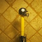 Pittsburgh Steelers  KEGERATOR BEER TAP HANDLE Helmet  Football  Bar Sport NFL