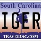 "NCAA Clemson Tigers Vanity License Plate Tag 6""x12""  College Metal Auto Team New"