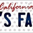 "Mlb A's Fan Vanity License Plate Tag  6""x 12""  Metal Auto Oakland Baseball"