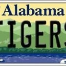 "NCAA Tigers Vanity License Plate Tag 6""x 12"" Sports Auburn  Metal Auto Alabama"