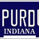 "NCAA Purdue Vanity License Plate Tag 6""x12"" Vintage College Team Metal Auto New"