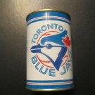 Vintage MLB  Toronto Blue Jays Toy Tin  Piggy Bank Rare 1980's  Joe Carter