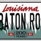 NCAA Baton Rouge Vanity License Plate Tag Vintage Team Metal Auto New LSU Tigers