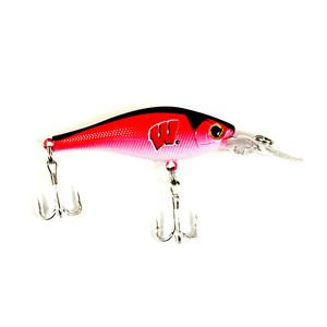 NCAA Wisconsin Badgers Crank bait Minnow Fishing Lures Officially Licensed