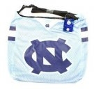 North Carolina Tar Heels NCAA Team Jersey Tote  15 x 4 x 14 Basketball New Blue
