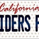"Raiders Fan Vanity License Plate Tag Oakland 6""x 12"" Metal NFL Auto Truck Carr"