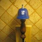 MLB Los Angeles Dodgers KEGERATOR BEER TAP HANDLE Helmet Bar Series Oak Brew New