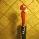 Georgia Bulldogs KEGERATOR BEER TAP HANDLE Football Helmet Red Bar NCAA  UGA