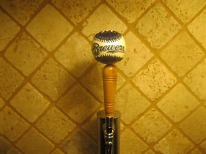 Milwaukee Brewers KEGERATOR BEER TAP HANDLE Ball Bar Sports MLB Brew Braun New