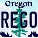 NCAA Oregon Ducks Vanity License Plate Tag  Vintage Team Metal Auto