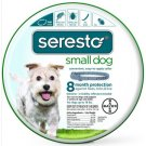 SERESTO FLEA AND TICK COLLAR FOR SMALL DOGS 15″ COLLAR LENGTH 8 month protection Bayer