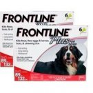 FRONTLINE PLUS FOR EXTRA LARGE DOGS 89-132LBS – 12 PACK