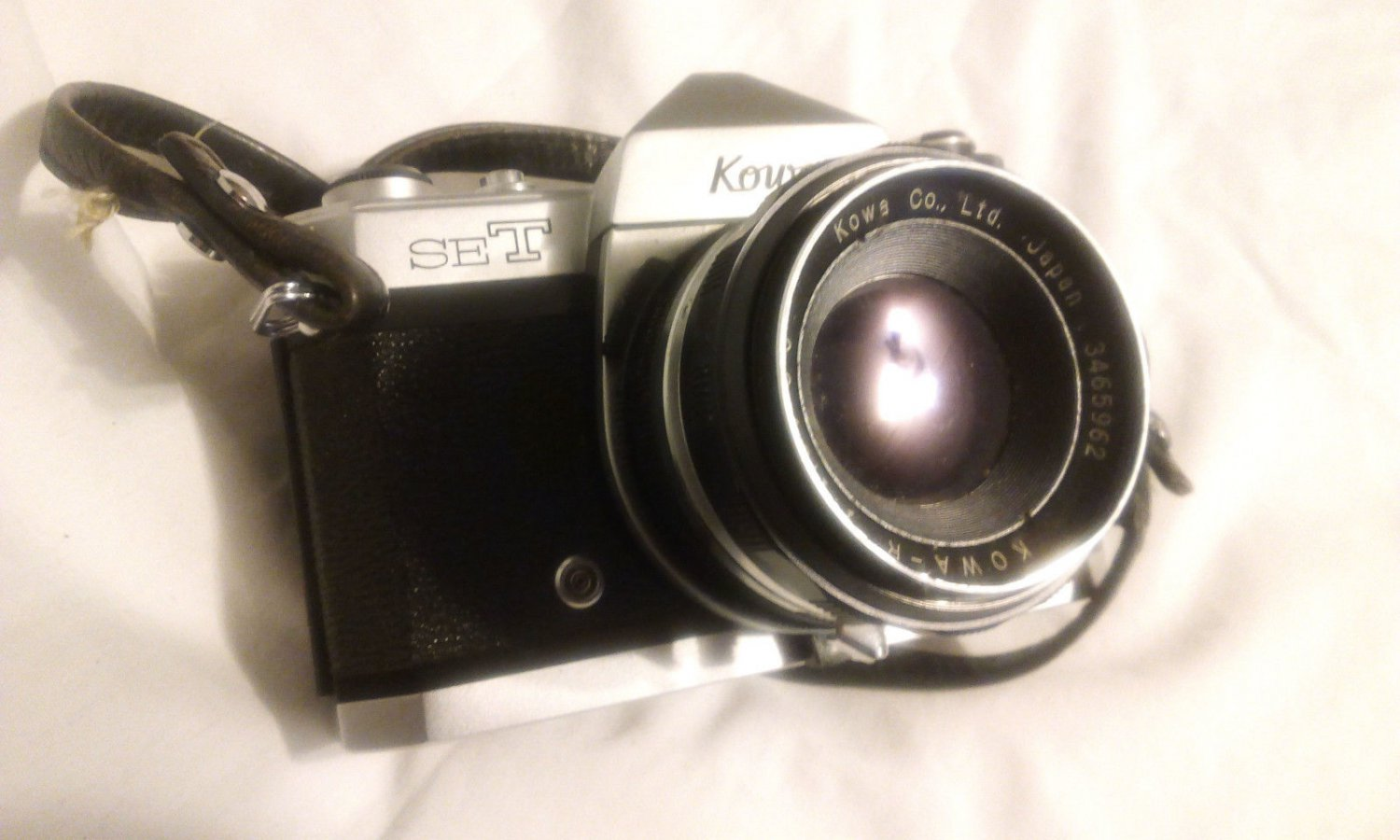 Kowa SET R2 Camera W/ Kowa R 50mm 1:1.8/50 Lens Working Needs TLC
