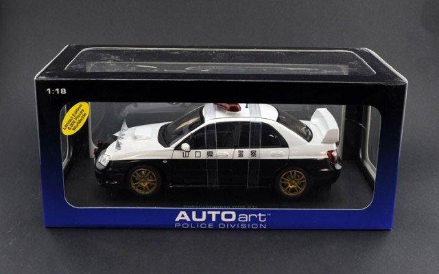 Autoart 1:18 Subaru WRX STI (Police car)