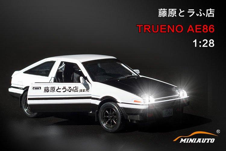 1/32 頭��D Toyota AE86