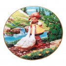 "Goose Girl by M. I. Hummel 8 1/4"""" Collectible Plate 23kt Gold Trim w/COA"