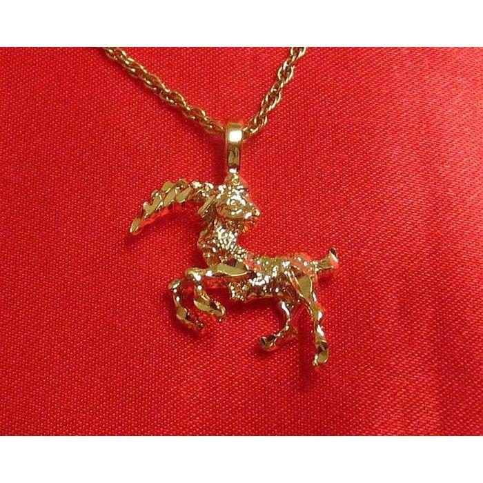 14K Double Gold Filled Capricorn Charm/Pendant