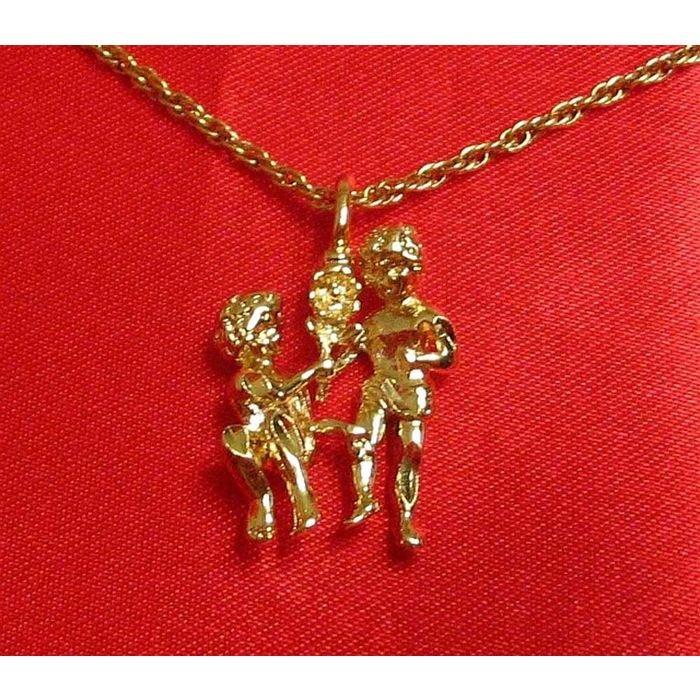 14K Double Gold Filled Gemini Charm/Pendant