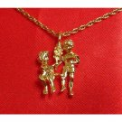 14K Double Gold Filled Gemini Charm/Pendant