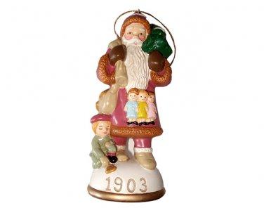 Bavarian St. Nicholas Circa 1903 Memories of Santa Collection Ornament NIB
