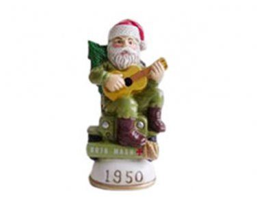 Mash Santa 8067 Unit Circa 1950 Memories of Santa Collection Ornament NIB