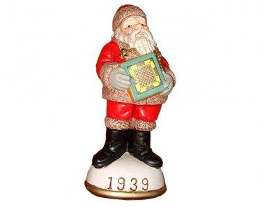 Santa and Carrom Board Circa 1939 Memories of Santa Collection Ornament NIB