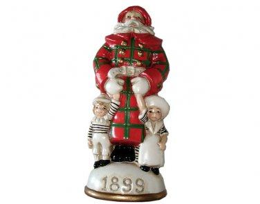 Santa For Young Folks Circa 1899 Memories of Santa Collection Ornament NIB