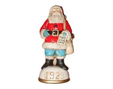 Savings Account Santa Circa 1929 Memories of Santa Collection Ornament NIB