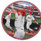 "Record 70 Home Runs Mark McGwire Home Run Hero 8"""" Collectors Plate with COA"