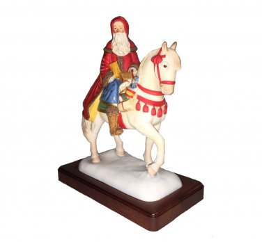 Santa on Horse Christmas Reproductions Limited Edition of Only 3000 Made NIB