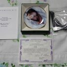 "Tucked In by Rob Anders Miniature 3 1/4"""" Collectors Plate New COA & Stand"