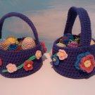 Purple Easter Baskets