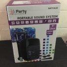 IBIZA PORTABLE SOUND SYSTEM 8''/20cm - 300W WITH USB, BLUETOOTH, FM & MIC (Ex-display)