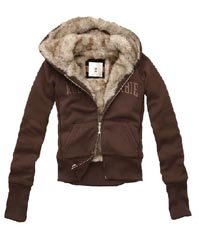 Abercrombie NEW Joanna Brown Jacket S Size